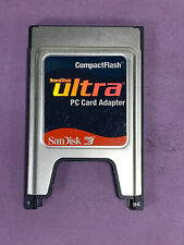 SanDisk Ultra Compactflash CF PC Card Adapter +ATA PC Card PCMCIA Adapter