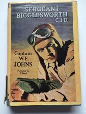 Sergeant Bigglesworth C.I.D by Captain W.E. Johns. 1950. Illust by Stead