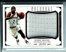 2015-16 National Treasures Colossal Jumbo Jersey Kyrie Irving Cleveland Cavs /99