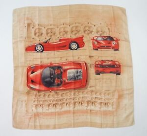 Original Ferrari F50 Ladies Silk Scarf