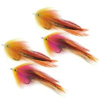 Details about  /PIKE FLY super flash streamer red// black 6//7 inch fly made in scotland