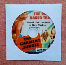The Garment Jungle (1957) Film noir with Lee J. Cobb, Kerwin Mathews, Gia Scala