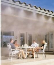 Pump outdoor mist cooling system with brass mist nozzle pressure misting system