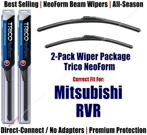 2-Pack Super-Premium NeoForm Wipers fit 2011+ Mitsubishi RVR - 16240/210