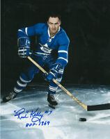 RED KELLY  and  BOBBY BAUN ( MAPLE LEAFS )  BOTH PHOTOS  - 5 x 7 SIGNED REPRINTS