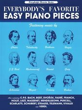 Everybody's Favorite Easy Piano Pieces Sheet Music NEW 000231776