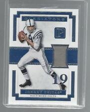 JOHNNY UNITAS 2017 PANTHEON GLADIATORS GAME USED COLTS JERSEY #D /99