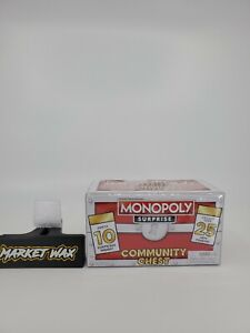 Monopoly Surprise Community Chest - 10 Piece Mystery Chest Red