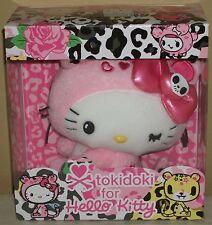 """TOKIDOKI x Hello Kitty Macchiato 7.3"""" 18.5cm Plush Dolls w/Box Sanrio 2009 Rare"""