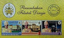 Malaysia Installation Royal Highness Sultan Terengganu 2013 King *unissue ms MNH