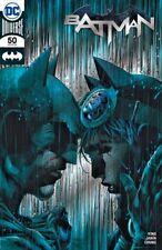 SDCC 2018 DC Exclusive BATMAN #50 Jim Lee Silver Foil Variant Cover