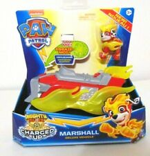Paw Patrol Mighty Pups Charged Up Marshall Figure