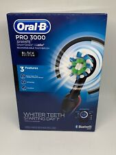 Oral-B Pro 3000 3D White Smart Series w/ Bluetooth BLACK EDITION