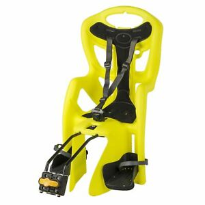 Bellelli Pepe Seatpost-Mounted Baby Carrier, Yellow/Black