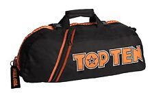 "Rucksack - Tasche TOP TEN ""S""mall l´orange (55 x 29 x 27 cm), Schwarz-Orange"