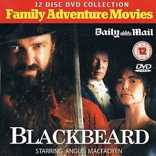 BLACKBEARD - UK PROMO DVD ANGUS MACFADYEN MARK UMBERS JESSICA CHASTAIN