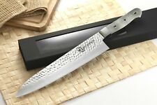 Japanese VG-10 Hammered 67 Layers Damascus Gyuto Chef Chef knife blanks 10.5 in