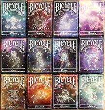 Constellation Bicycle Playing Cards 12 Deck Set Poker Size USPCC Custom Limited