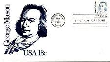 US FDC #1858 Mason, Andrews (0254)