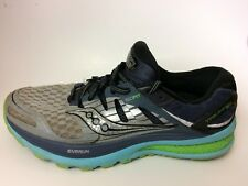 Saucony Triumph ISO 2 Everun Womens 9 Med Athletic Shoes S10290-1 Sneaker Silver