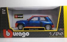 "Bburago 21088 Renault 5 TURBO ""Blue/Red""- METAL Scala 1:24"