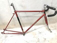 """Raleigh Super Record Road Touring Bike Lugged Frame 21.5"""""""