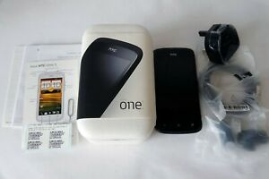 HTC One X - 32GB - Black (Unlocked ex Orange) Smartphone Boxed with all contents