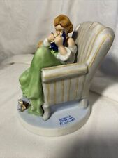 "New ListingNorman Rockwell ""The Diary"" Porcelain Figurine By Gorham 1988 344/15,000"