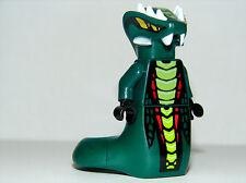 Genuine LEGO Ninjago Acidicus Snake Minifigure - Brand NEW