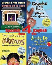 NEW 4 Spanish-English Books for Kids by Karl Beckstrand