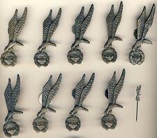 9 Brevets parachutistes Pologne  + 1 miniature