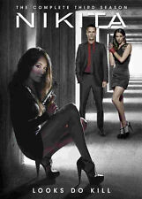 Nikita . The Complete Season 3 Three . Staffel . Maggie Q . 5 DVD . NEU . OVP