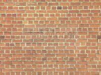 NOCH 57550 - Muro in mattoni rossi, cartoncino in rilievo, 3D Scala H0. TT