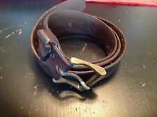 Vintage Levis Distressed Leather Belt