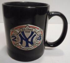 VINTAGE New York Yankees MLB 1998 World Series Champions 24 time champion