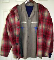 VTG Guess Georges Marciano Shadow Plaid Jacket M Cobain Grunge Travis Scott