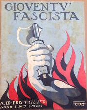 FUTURISMO TATO GIOVENTù FASCISTA ANNO I N. 7 1932