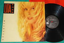 Lita Ford - Stiletto BRAZIL PROMO LP 1990 The Runnaways