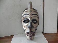 """Arts of Africa - Bakongo Mask - DRC - Congo - Angola - 22"""" Height x 11"""" Wide"""