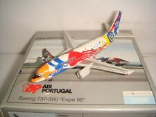 "Herpa Wings 500 Tap Air Portugal B737-300 ""Expo 1998 colors"" 1:500 NG"