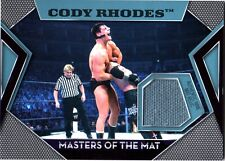 WWE Cody Rhodes Topps 2011 Masters of the Mat Event Used Relic Card FD
