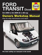 New Haynes Manual Ford Transit Diesel 00-06 Van Workshop Repair Book 4775