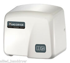 FastDry (Mod. 1800PA) Automatic Hand Dryer with FREE Wall-Plug White ABS Cover