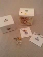 Swarovski 1997 Christmas Memories Angel Tree Ornament- Boxed