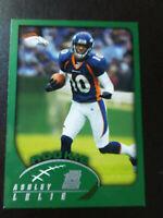 FREE SHIPPING-Ashley Lelie Rookie-2002 Topps Football-nrmt/mt/8-no.363-Broncos