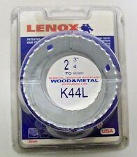 """Lenox K44L Bi-Metal ,Wood 2-3/4"""" (70mm) Hole Saw Shatter Resistant Extended Life"""