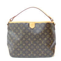 LOUIS VUITTON Shoulder Bag M40352 Brown Handbag Monogram Delight full PM fro...