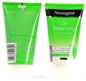2 Count Neutrogena Oil Balancing With Lime & Aloe Vera In Shower  5.07 Oz