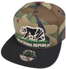 New Era California República Camuflaje granate GORRA SNAPBACK 9fifty M L