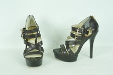 Michael Kors Aria Strappy Platform Sandal Heel US 7M New Display